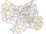 Ostrava - cenová  mapa stavebních pozemků